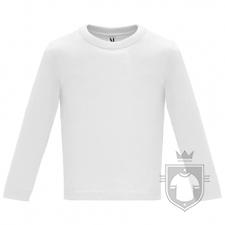 Camisetas Roly Baby Manga Larga color White :: Ref: 01