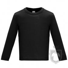 Camisetas Roly Baby Manga Larga color Black :: Ref: 02