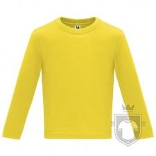 Camisetas Roly Baby Manga Larga color Yellow :: Ref: 03