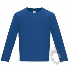 Camisetas Roly Baby Manga Larga color Royal blue :: Ref: 05
