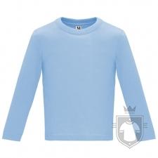 Camisetas Roly Baby Manga Larga color Sky blue :: Ref: 10