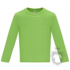Camisetas Roly Baby Manga Larga color Oasis green  :: Ref: 114