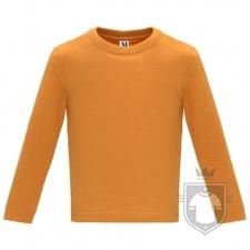 Camisetas Roly Baby Manga Larga color Orange :: Ref: 31