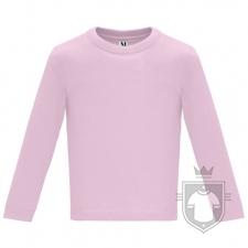 Camisetas Roly Baby Manga Larga color Light pink  :: Ref: 48
