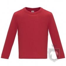 Camisetas Roly Baby Manga Larga color Red :: Ref: 60