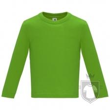 Camisetas Roly Baby Manga Larga color Grass green  :: Ref: 83