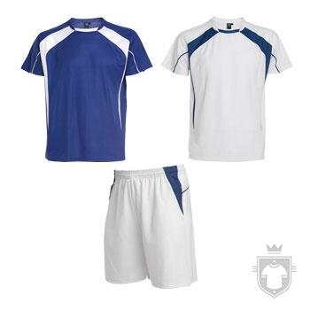 Equipaciones Roly Conjunto deportivo color Blue - White :: Ref: 0501
