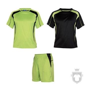 Equipaciones Roly Conjunto deportivo color Green and Black :: Ref: 2802
