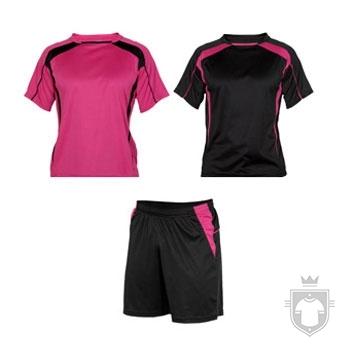 Equipaciones Roly Conjunto deportivo color Fuchsia and Black :: Ref: 4002