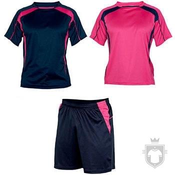 Equipaciones Roly Conjunto deportivo color Navy  / Fluor pink :: Ref: 55228