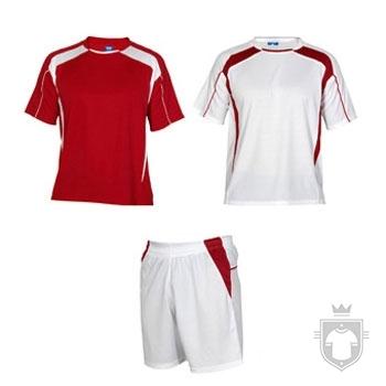 Equipaciones Roly Conjunto deportivo color Red and White :: Ref: 6001