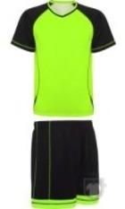 Equipaciones Roly Conjunto Deportivo Premier color lime  - Black :: Ref: 22502