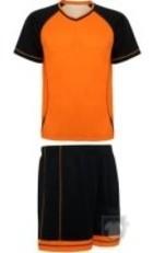 Equipaciones Roly Conjunto Deportivo Premier color Orange  - Black :: Ref: 3102