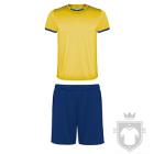 Equipaciones Roly Racing color Yellow  - Blue :: Ref: 0305