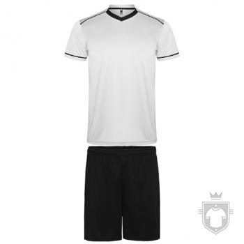 Equipaciones Roly United color White - Black :: Ref: 0102