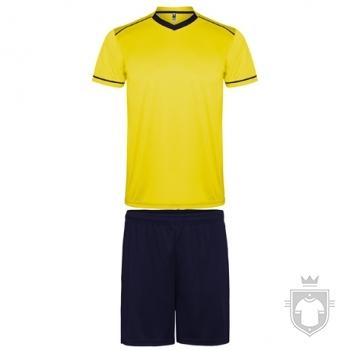 Equipaciones Roly United color Yellow  - Black :: Ref: 0355