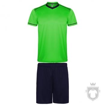 Equipaciones Roly United color Fluor green / Navy :: Ref: 22255