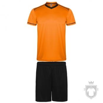 Equipaciones Roly United color Orange  - Black :: Ref: 3102