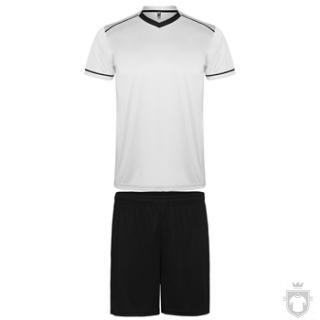 Equipaciones Roly United K color White - Black :: Ref: 0102