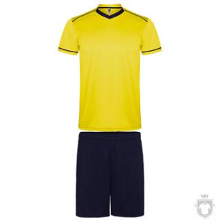 Equipaciones Roly United K color Yellow  - Black :: Ref: 0355