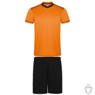 Equipaciones Roly United K color Orange  - Black :: Ref: 3102