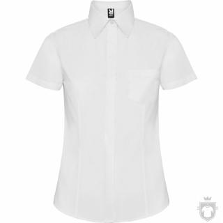 Camisas Roly Sofia policoton w manga corta color White :: Ref: 01
