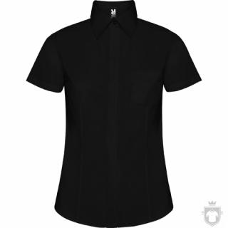 Camisas Roly Sofia policoton w manga corta color Black :: Ref: 02