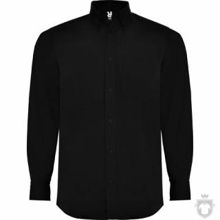 Camisas Roly Aifos Manga Larga M color Black :: Ref: 02