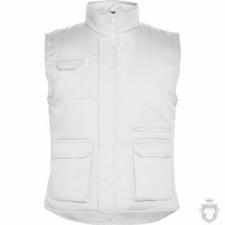Chalecos Roly Almanzor color White :: Ref: 01