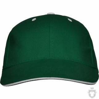Gorras Roly Panel color Bottle green  :: Ref: 56