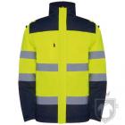 Chaquetas Roly Epsylon color Navy / Fluor yellow :: Ref: 55221