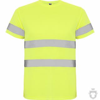 Camisetas Roly Alta Visibilidad Delta color Yellow Fluor :: Ref: 221