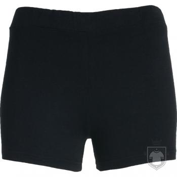 Pantalones Roly Short Nelly color Black :: Ref: 02