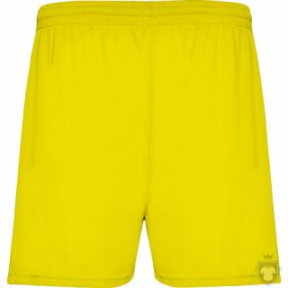 Pantalones Roly Pantalon calcio Kids color Yellow :: Ref: 03