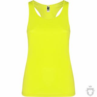 Camisetas Roly Shura color Yellow Fluor :: Ref: 221
