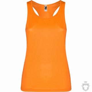 Camisetas Roly Shura color Orange Fluor :: Ref: 223
