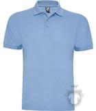 Polos Roly Pegaso m   policoton color Sky blue :: Ref: 10
