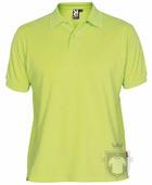 Polos Roly Pegaso m   policoton color Lime green  :: Ref: 69