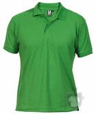 Polos Roly Pegaso m   policoton color Grass green  :: Ref: 83