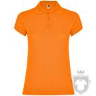 Polos Roly Star W color Orange :: Ref: 31