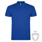 Polos Roly Star Tallas grandes color Royal blue :: Ref: 05