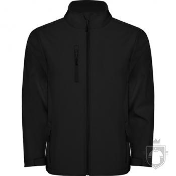 Softshell Roly Nebraska color Black :: Ref: 02