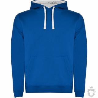 Sudaderas Roly Urban color Blue - White :: Ref: 0501