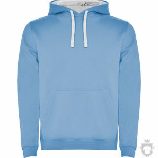 Sudaderas Roly Urban color sky blue White :: Ref: 1001