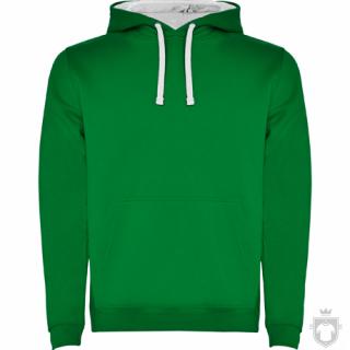 Sudaderas Roly Urban color Green - White :: Ref: 2001