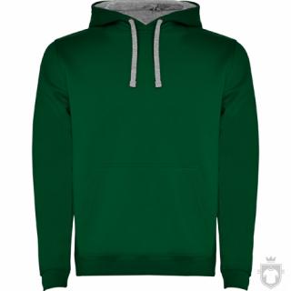 Sudaderas Roly Urban color Green - Grey :: Ref: 5658