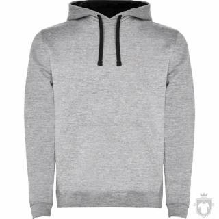 Sudaderas Roly Urban color grey - Black :: Ref: 5802