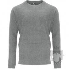 Sudaderas Roly Mana color Grey  :: Ref: 58