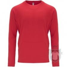 Sudaderas Roly Mana color Red :: Ref: 60