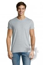 Camisetas Sols Regent Ajustada   color Azul cielo jaspeado :: Ref: 258